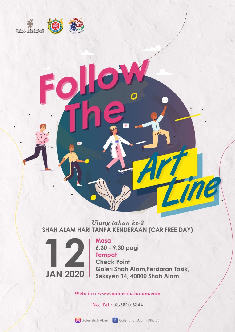 Follow the art line